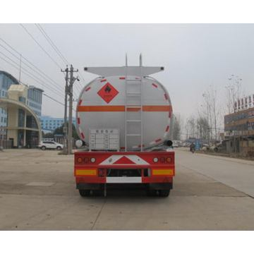 10.5m Tri-axle Flammable Liquid Transport Tank Semi-trailer