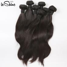 7А класс Оптовая бразильские шелковистая прямая расширения человеческих волос девственницы Перуанский 100% человеческих волос Реми волос