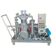 máquina de molde do sopro do animal de estimação 30 compressor de ar da máquina de enchimento da barra de enchimento 90Kw 5Mpa Biogas Compressor