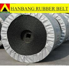 NN fabric reinforced conveyor belts