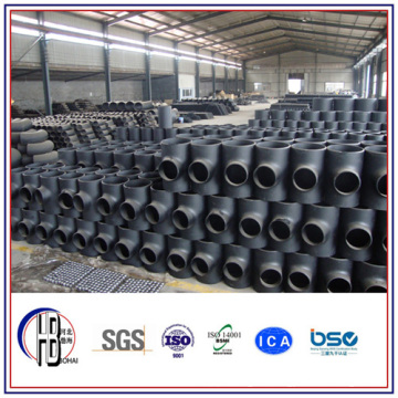 ASTM A234 Carbon Steel Equal T-Stück Butt Weld Fittings