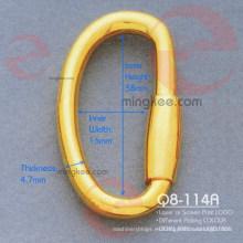 Accesorios del bolso de la hebilla de D (Q8-114A)