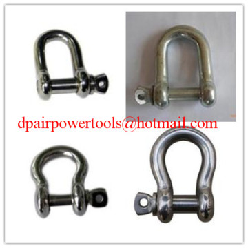 D-Shackle shackle& Bow Shackle,Safety Anchor Shackle