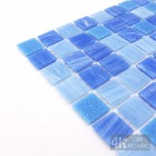 Ladrilhos de mosaico de vidro estampado