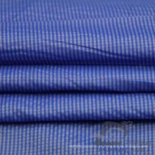 Resistente al agua y al aire libre ropa deportiva al aire libre chaqueta tejida rayas Jacquard 25% Nylon + 75% de tela de poliéster (NJ047)