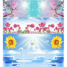 hot sale design 100%polyester printed fabric