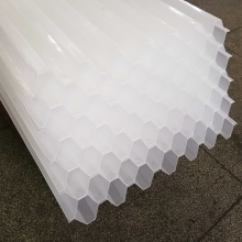 50mm Aperture Lamella Clarifier Plate Tube Settler Inclined Industrial Water Treatment