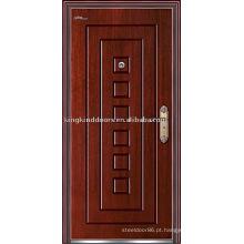 Forte segurança porta porta blindada (JKD-212) madeira Exterior porta de aço