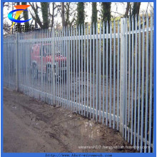 Triple Pointed Galvanised Palisade Fencing Factory
