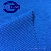 tejido elástico de punto acanalado otomano spandex de poliéster para guantes