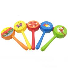 FQ-Markengroßhandels-intelligentes pädagogisches Kind 3d hölzerne Spielwaren Babyrassel