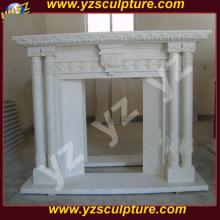 Современный дизайн скидка Mantel мраморный камин