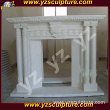 Modern Design Discount Marble Fireplace Mantel