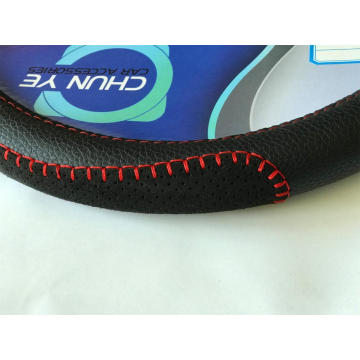 SUBARU Odorless Breathable PU leather steering wheel cover