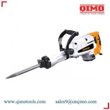 china electric demolition hammer 75mm 2400w 1400r/m qimo power tools