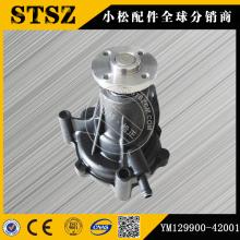 Komatsu genuine parts PC50UU-2  water pump YM129900-42001