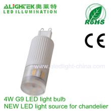 4w G9 Ceramic Led Bulb Light G9 Chandelier Replacement Light Source
