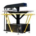 FJXHB5-1 presse automatique de transfert de chaleur rotative à économie de temps et à l'espace