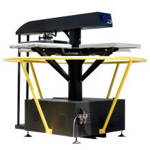 FJXHB5-1 ahorro de tiempo y espacio rotativo automático de transferencia de calor prensa