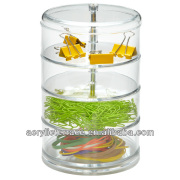 acrylic hair ribbon organizer-FA1311037001/hair ribbon storage/acrylic hair accessories display stand