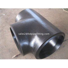 Hitam Dicat Mulus Tee Equal Fittings
