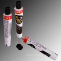 Tubos desechables de aluminio para acrílico pinturas tubos