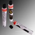 Tubos descartáveis de alumínio para o acrílico pinta tubos