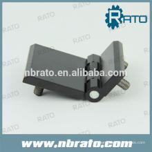 Bisagras de aleación de zinc RH-186B con recubrimiento de polvo negro