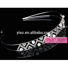 new style high quality crystal hair accessories