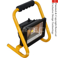 Rechargeable Portable Led Work Light 20w 1600lm Epistar Led