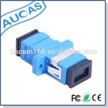 Adaptador de fibra ótica duplex LC / UPC SM Adaptador de fibra óptica duplex / adaptador óptico de fibra com modo SM ou MM