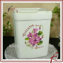 ceramic waste basket