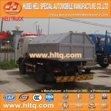 4X2 DONGFENG brand new model 5cbm 95hp hook lift Garbage Cart high quality best selling in China