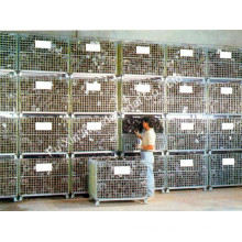 Container, Wire Storage Cage, Stacking Containers