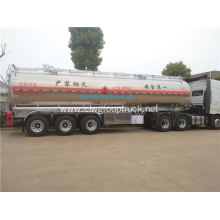 33.6 tons aluminum alloy fuel tanker trailer