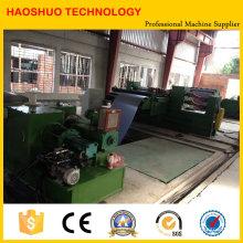 Máquina de corte longitudinal de acero al silicio en China