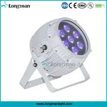 Напольное DMX 7*12ВТ Rgbawuv беспроводной батарейках точечные светильники