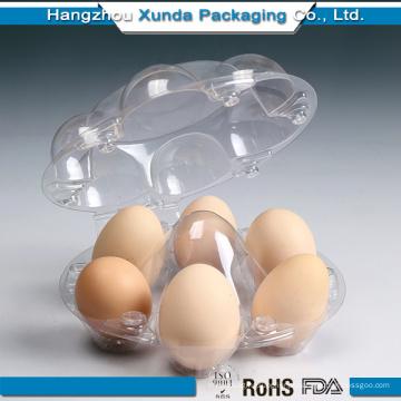 Plástico, ovo, bandeja
