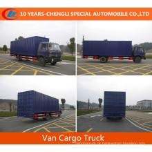 Caminhão da caixa da carga do caminhão da carga de Dongfeng 5cbm ~ 60cbm Van para a venda