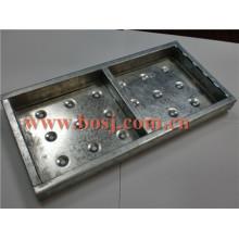 Deck de aço para material de construção Scaffolidng Roll formando máquina de fabricação Philippnes