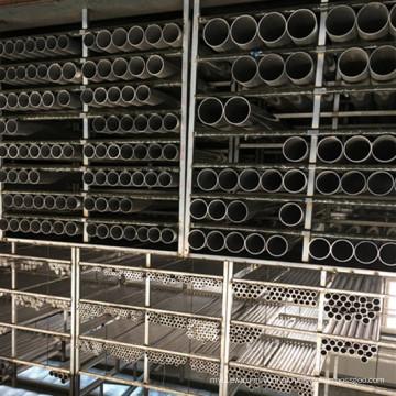 Tubo redondo de liga de alumínio