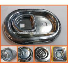 anneau de montage affleurant de camion et de remorque