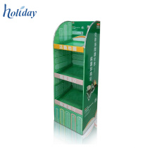 Easy To Assemble 4C Printing Paper Cardboard Pharmacy Display Stand,Cardboard Display Racks For Pharmacy
