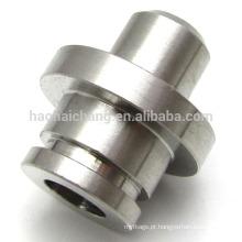 Carimbando parte peças de alta precisão conector de tubo de aço fio elétrico