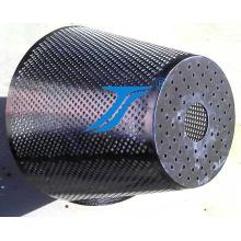 Treillis métallique perforé pour filtre