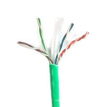 Fast Transfer Ethernet sólido 23AWG Cat6 UTP cabo