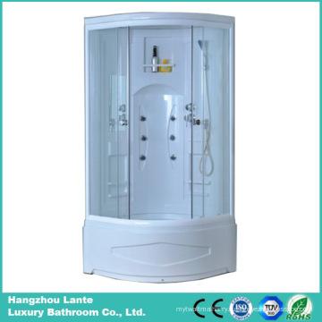 Кабина для ванной ABS с 5-миллиметровым закаленным стеклом (LTS-681-B)