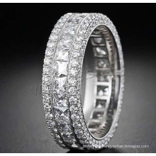 Gets.com 2015 new design Cubic Zirconia Micro Pave Finger Ring