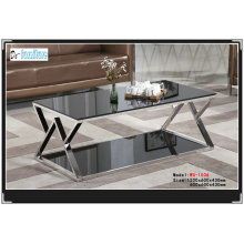 Simple Tempered Glass Living Room Table (WG-1506)