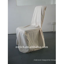 banquet chair cover with pleat at the front and leg,CTV534 polyester material,durable and easy washable